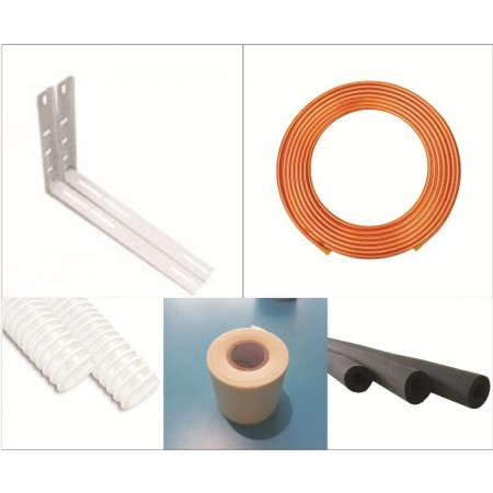 Air conditioning installation kit 6/12 - 3 meters