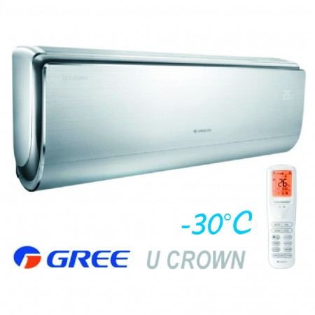 Инверторен климатик Gree U-Crown GWH09UB / K3DNA4F, 9000 BTU